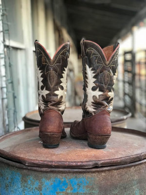 Vintage Custom Made Cowboy Boots