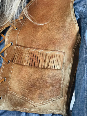 Vintage Cowgirl's Vest from the 1950's