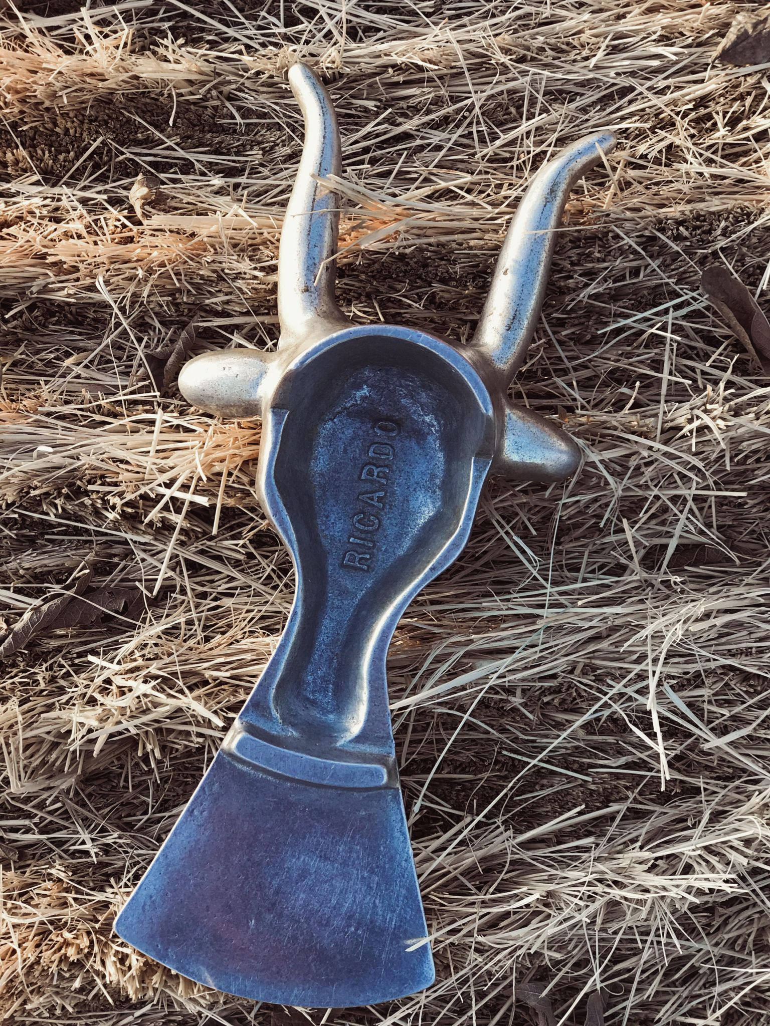 Vintage Steer Head Boot Jack