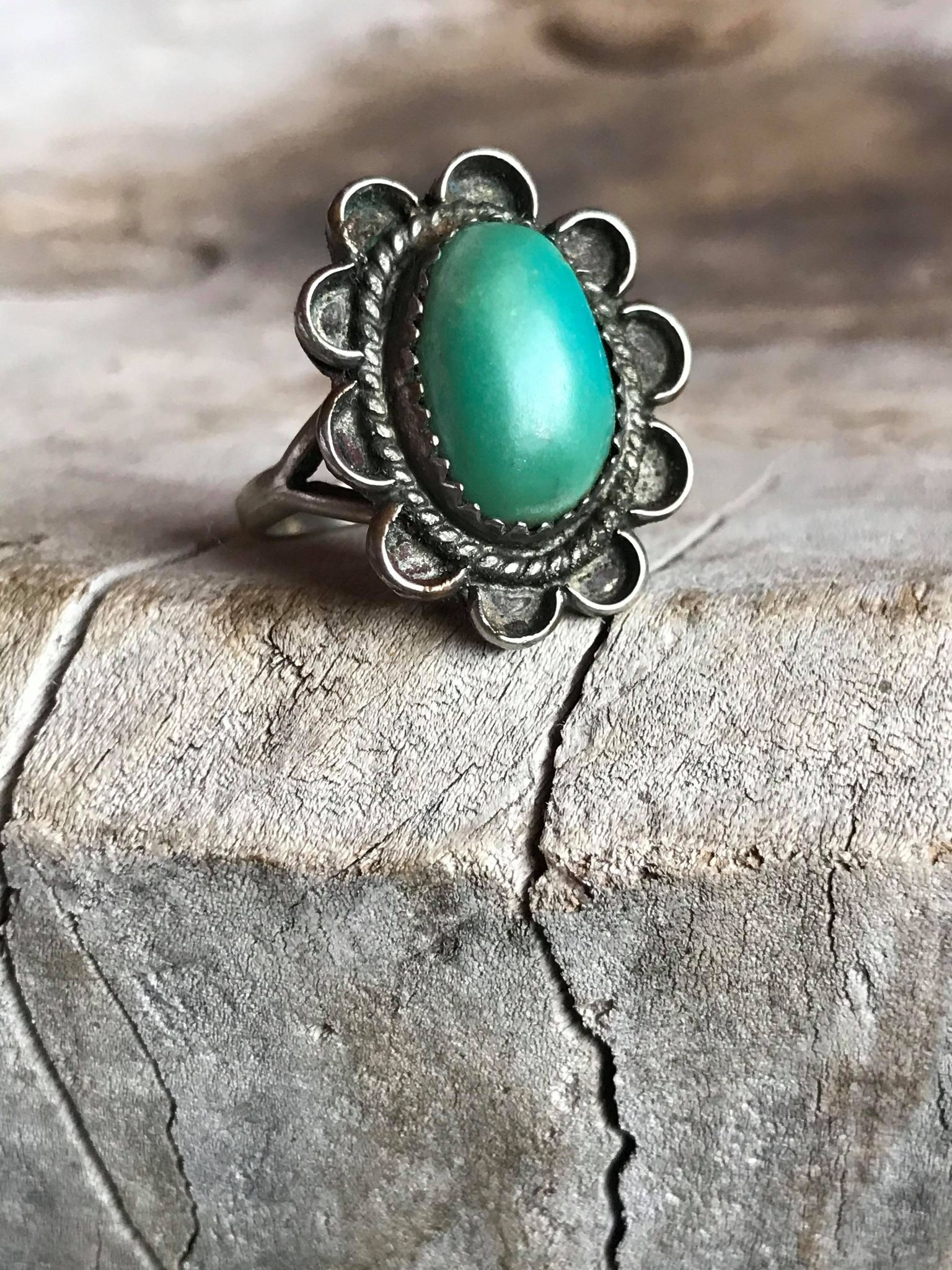 Antique Navajo Made Ring