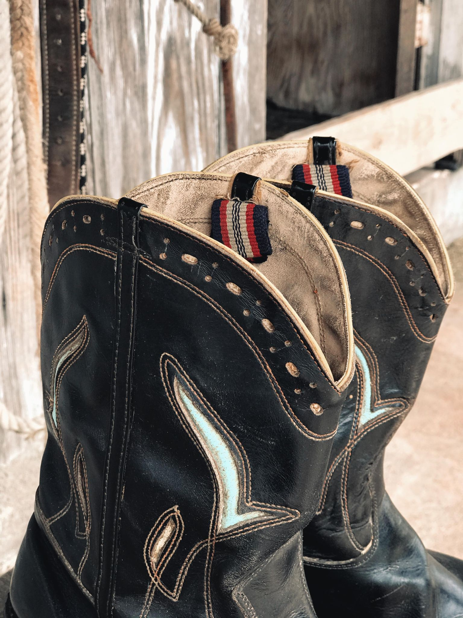 Vintage Cowboy Boots from the 1950's