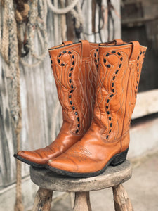 Vintage Texas Brand Cowboy Boots
