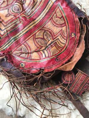 Vintage Moroccan Tribal Pillow