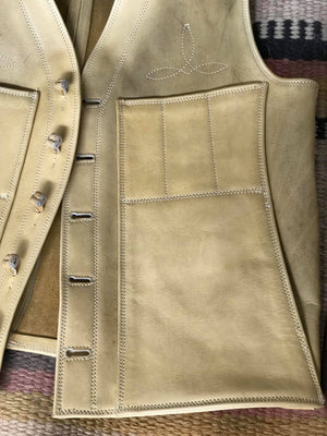 Buckskin Colored Vest