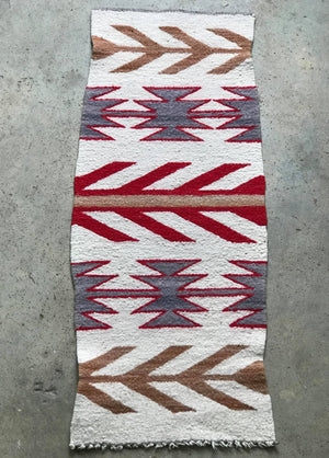 Antique Navajo Ganado Rug