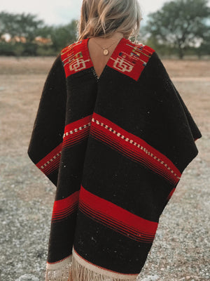 Vintage Mexican Poncho from the 20's