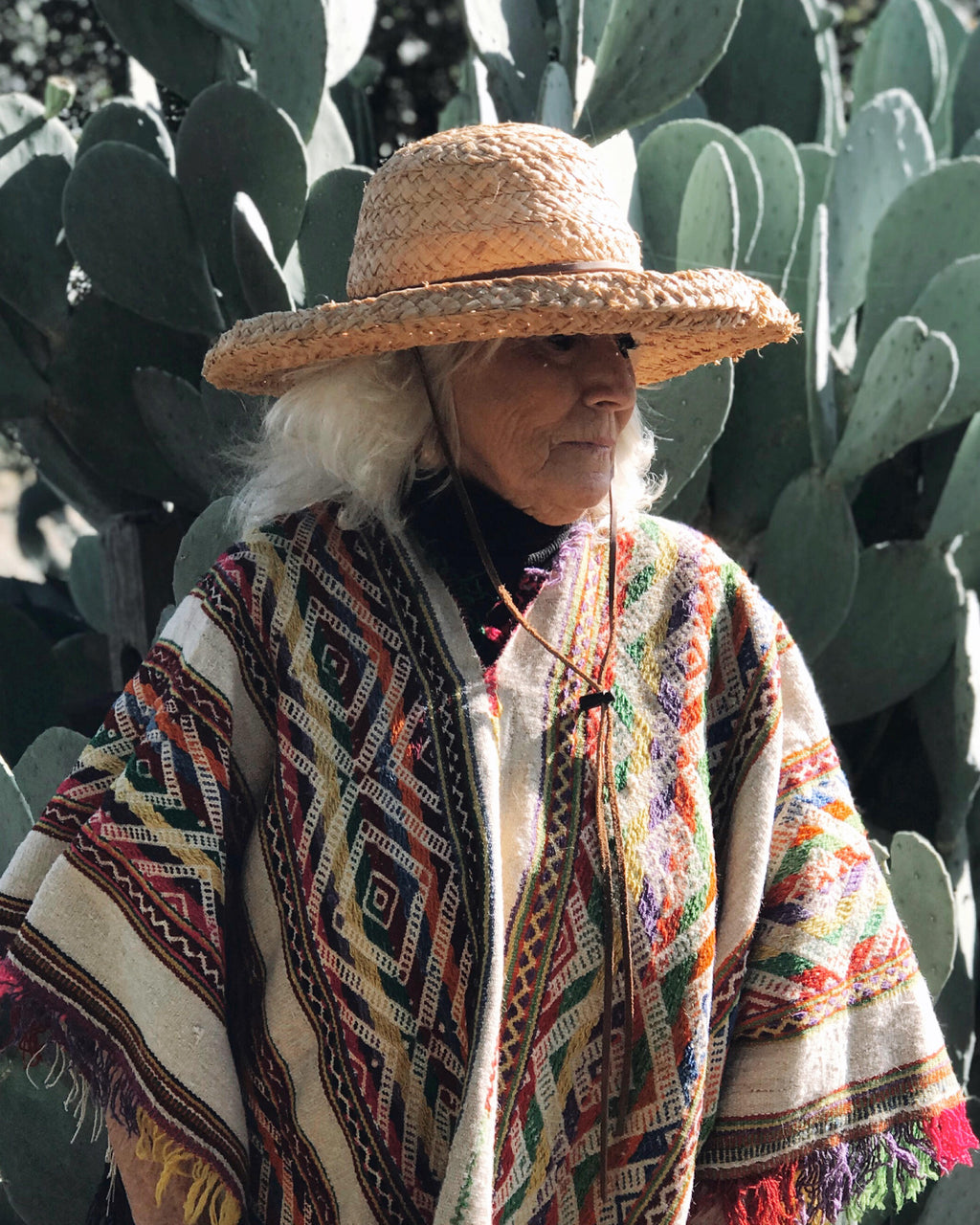 Antique Andean Poncho from Peru