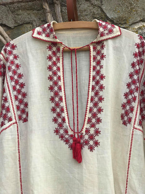 Antique Romanian Dress