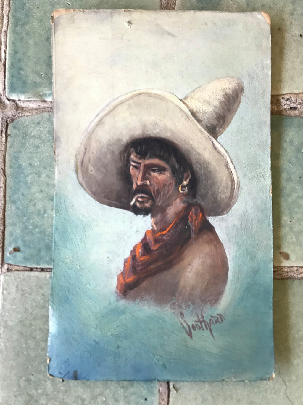 Vaquero Oil Painting
