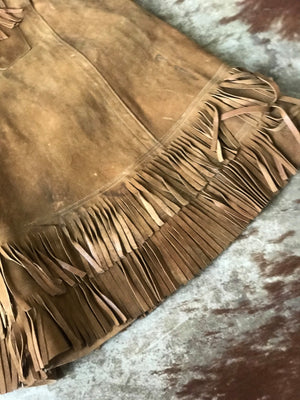 Antique Cowgirl Riding Skirt