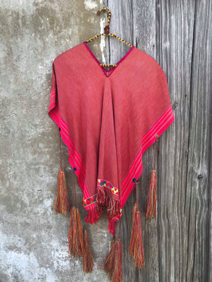 Vintage Mexican Top/Serape