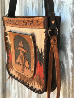 One of a kind Cowgirl Bag