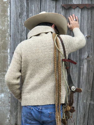 Vintage Pendleton Shawl Collar Sweater