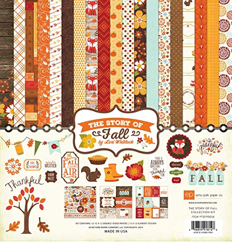 Echo Park the Story of Fall Collection Kit by Lori Whitlock
