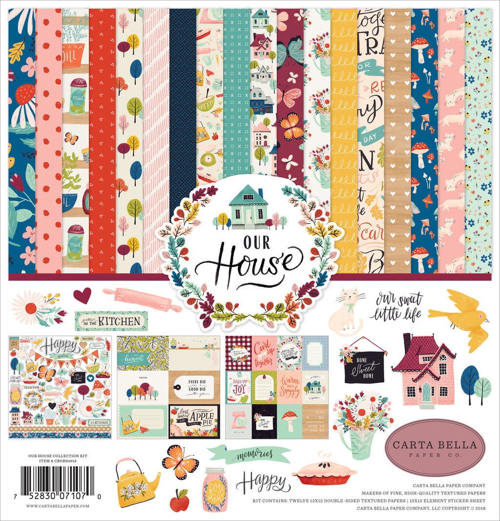 Carta Bella Our House Collection Kit