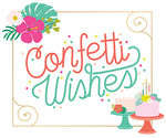 Confetti Wishes Card Making Bundle