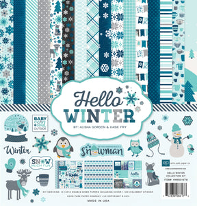 Echo Park Hello Winter Collection Kit