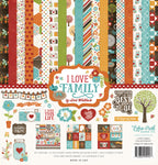 Echo Park I love Family Collection Kit by Lori Whitlock