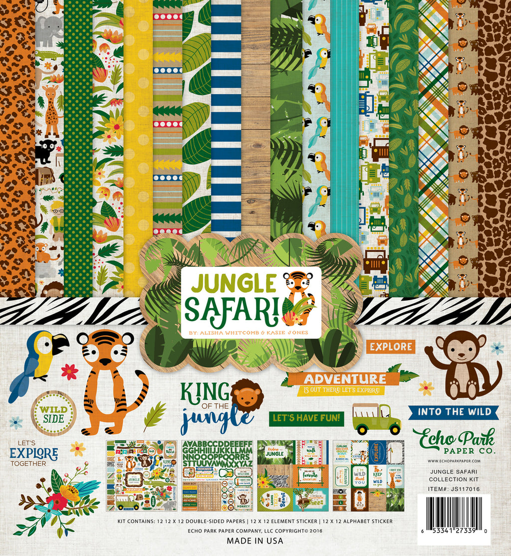 Echo Park Jungle Safari Collection Kit