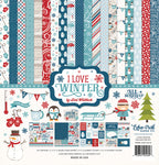 Echo Park I Love Winter Collection Kit by Lori Whitlock
