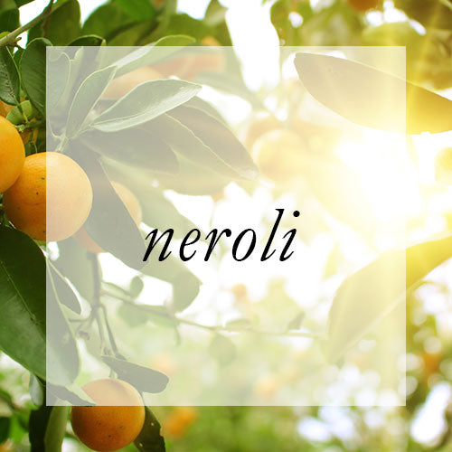 Vibrational properties of Neroli essential oil