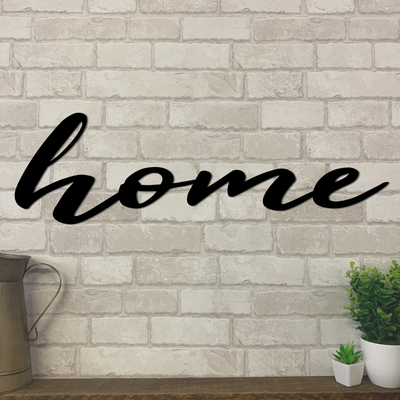 Home Metal Sign | Metal Expression | Metal Wall Art