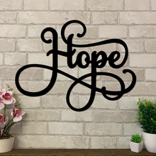 HOPE Metal Wall Art | Metal Expression | Faith Metal Decor