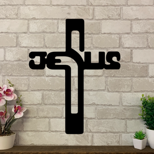 Jesus Cross Metal Art | Metal Expression | Metal Wall Art