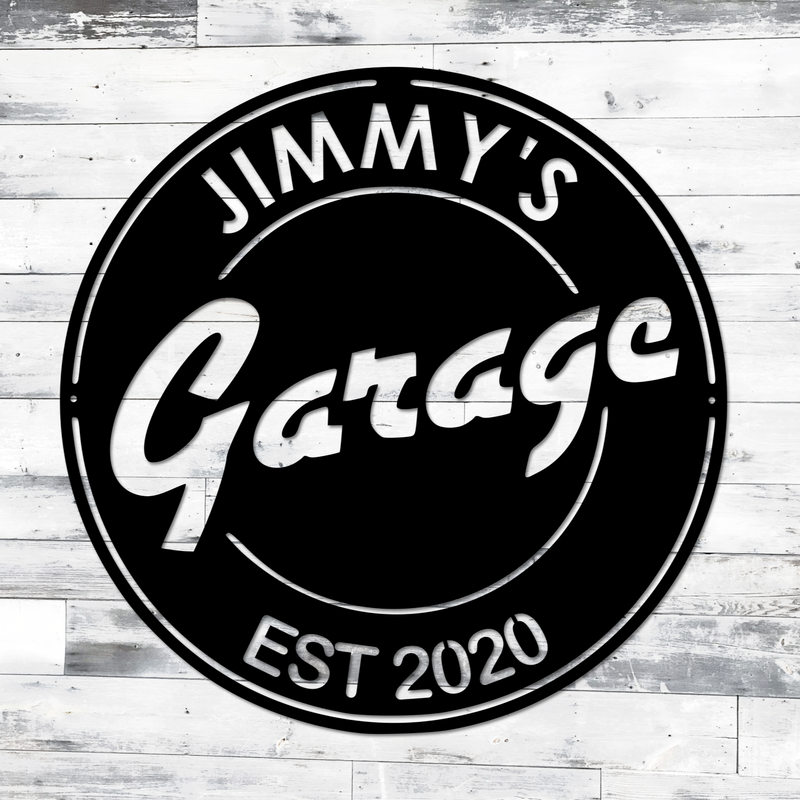Vintage Garage Sign | Man Cave Sign