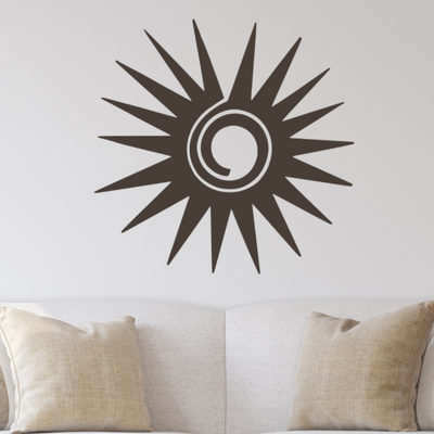 Southwest Sunburst - Southwest Metal Wall Art