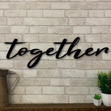 Together Metal Sign | Metal Expression | Metal Wall Art