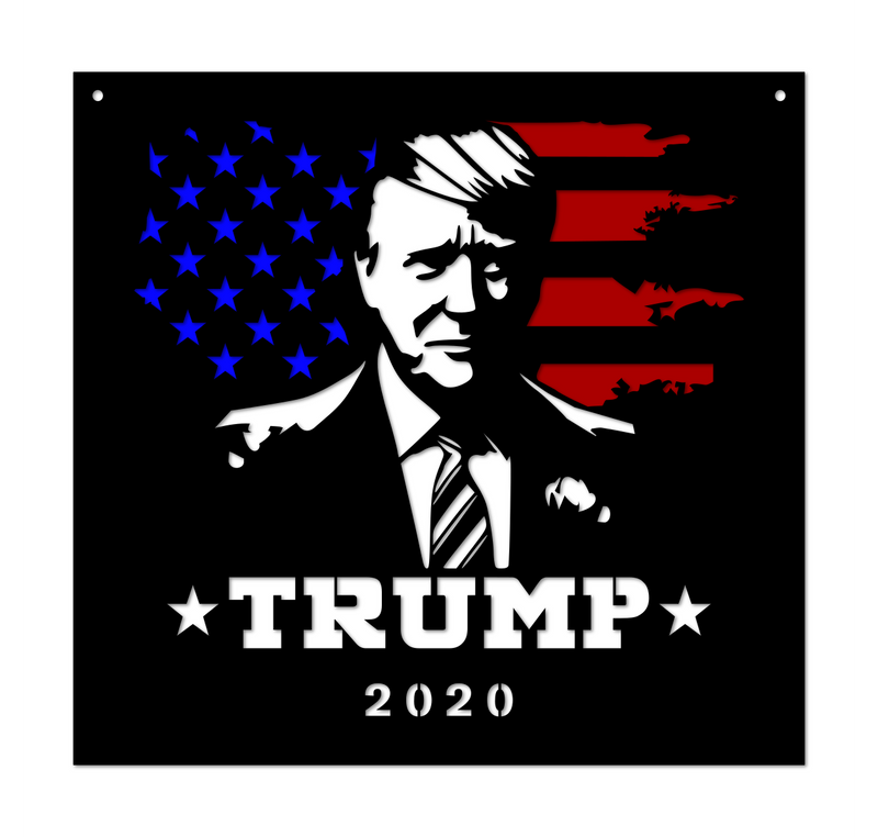 Trump 2020 For President Metal Campaign Sign (Make Liberals Cry Again)