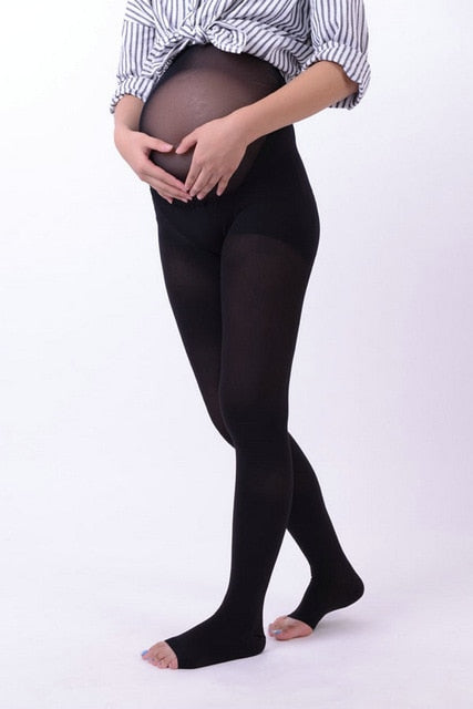 30-40mmHg Medical Compression Maternity pantyhose Medical Gradient Pregnancy Stockings Leggings For relief the pain - Assist Wear