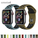 CRESTED Sport strap For Apple Watch Series 1,2,3 & 4 - Assist Wear