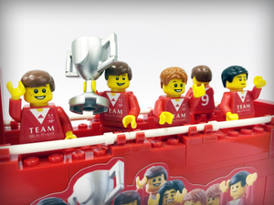 Aberdeen FC Limited Edition League Cup Parade Bus