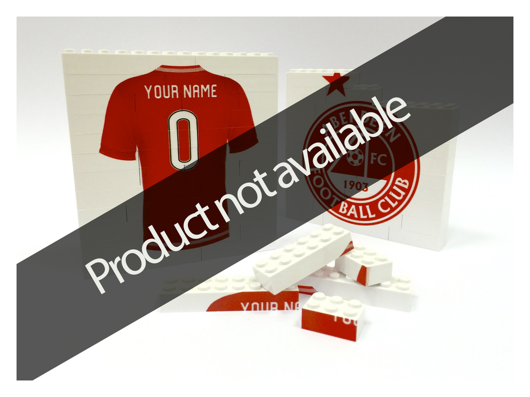 Personalised AFC Printabrick Puzzle Bricks