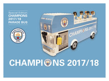 Manchester City 2018 Parade Bus