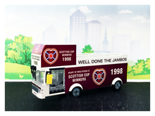 Limited Edition Heart of Midlothian 1998 Parade Bus