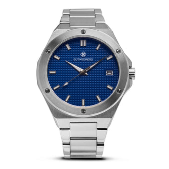 SILVER MATRIX 41MM BLUE DIAL
