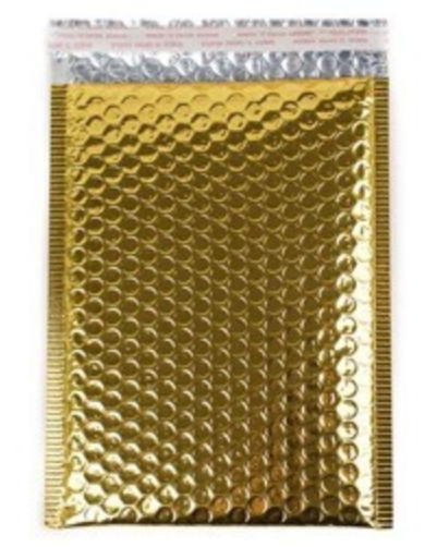 Gold Bubble Mailer - Heavy Duty