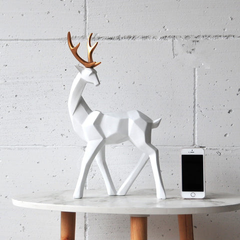 Resin Deer for Your Home