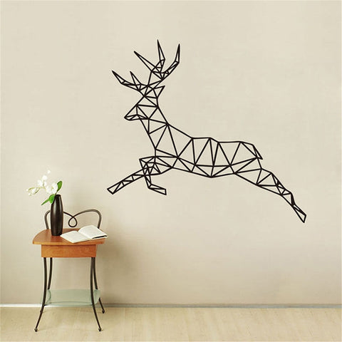 Running Deer Wall Stickers