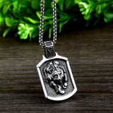 Viking Bear Amulet