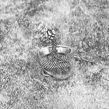 Retro Punk Snake Ring