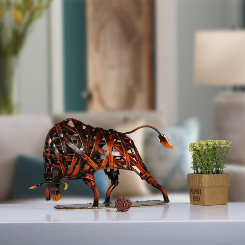 Iron-made Handmade Bull for Your Home