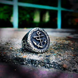 Vintage Anchor Ring