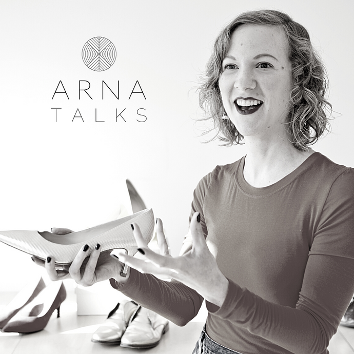 ARNA TALKS TO SUSANNAH DAVDA THE SHOE CONSULTANT