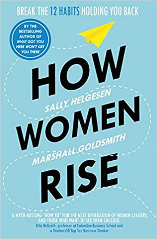 HOw women rise a book by Sally Helgesen about helping women at work - a perfect gift for the girl boss in your life