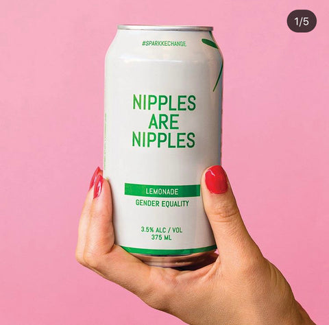 Sparkke Change beer for gender equality - sparking up conversation over a drink