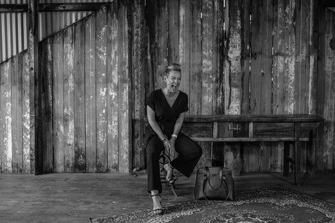Kylee Stone coach and CEO of team women Australia featuring in the ARNA bold moves campaign for 2020, women leaders, work and laptop bags for women